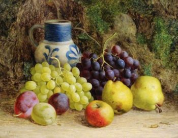 Still Life with Fruit | William Hughes | oil painting