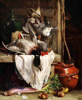 Still Life with Game | William Hughes | oil painting
