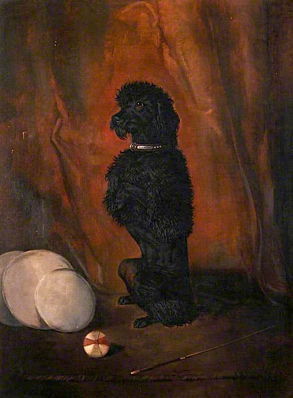 Poupon Begging | John Alfred Wheeler | oil painting