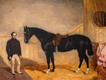 The Abbot of St Mark | John Alfred Wheeler | oil painting