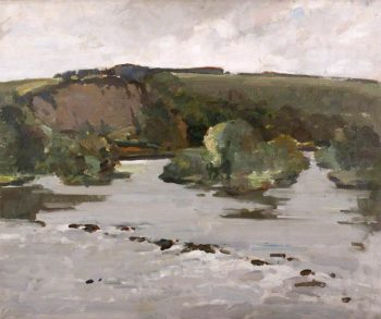 Near Ludlow | Frederick Milner | oil painting