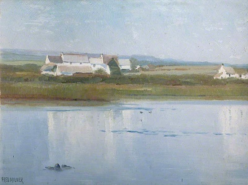 At Marazion | Frederick Milner | oil painting