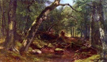 Artists Lane after a Shower | Asher Brown Durand | oil painting