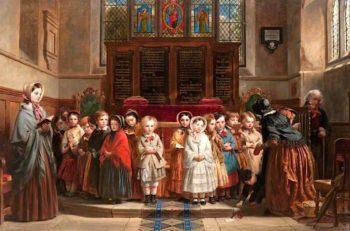 The Sunday School | Robert McInnes | oil painting