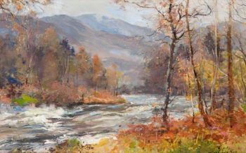 Pass of Leny | Archibald Kay | oil painting