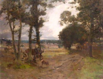 The Hill Farm | Archibald Kay | oil painting