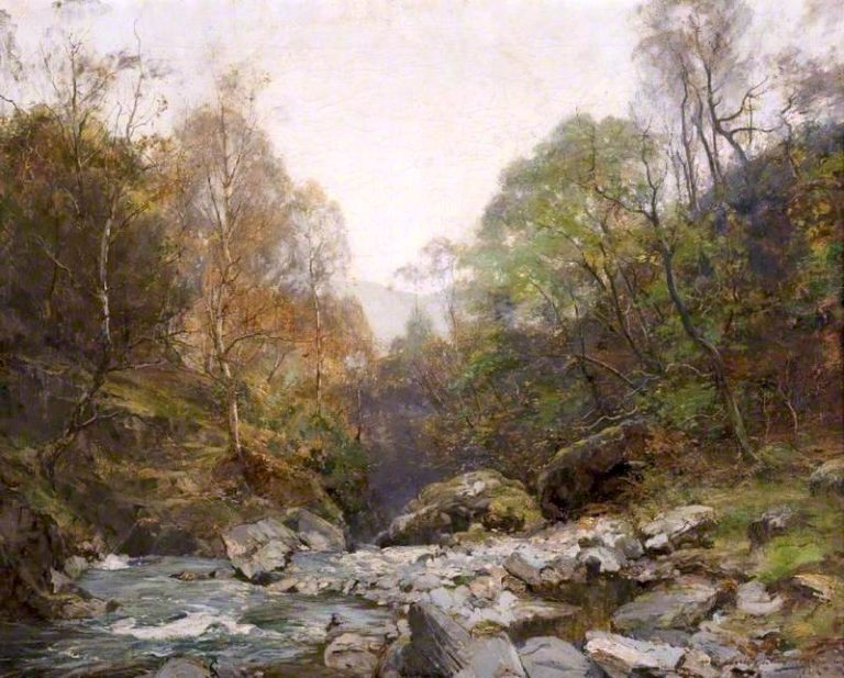 The Rhymers Glen | Archibald Kay | oil painting