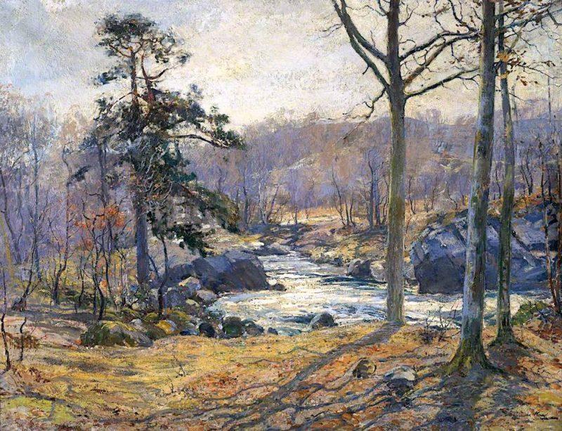 Winter Sunshine | Archibald Kay | oil painting