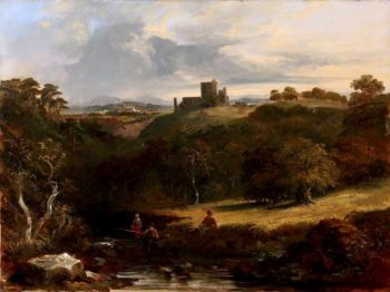 Craigmillar Castle | John Thomson | oil painting