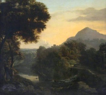 Craigmillar Castle and Arthurs Seat | John Thomson | oil painting