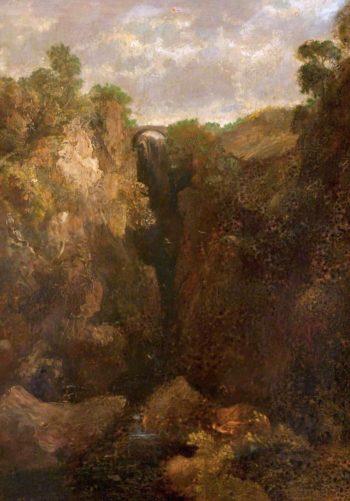 Dollar Glen | John Thomson | oil painting