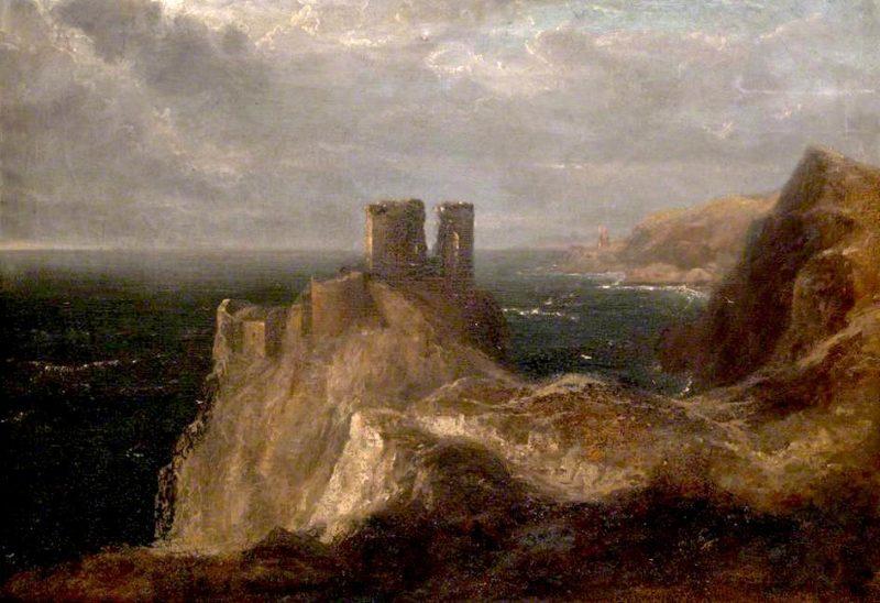 Fast Castle   John Thomson   oil painting