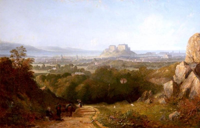 General View of Edinburgh from the Vicinity of Craiglockhart | John Thomson | oil painting