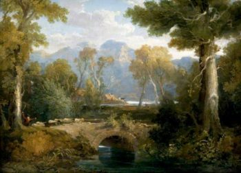 Landscape with a Bridge | John Thomson | oil painting