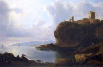 Ravenscraig Castle | John Thomson | oil painting