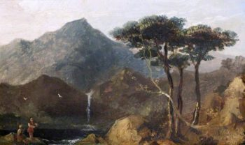Scene in the English Lakes | John Thomson | oil painting