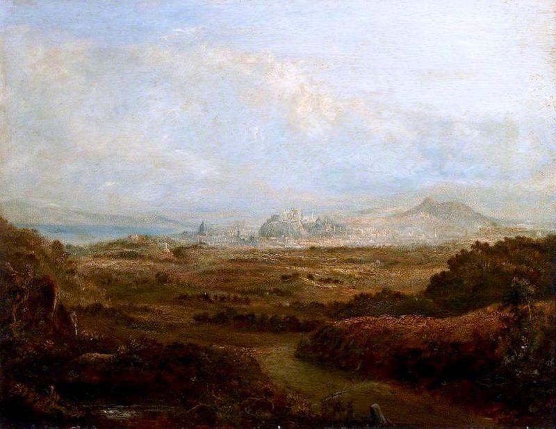View of Edinburgh from Craiglockhart | John Thomson | oil painting