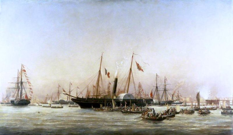 Queen Victoria Landing at Brighton