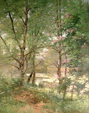 In a Fairy Woodland | Ernest Parton | oil painting