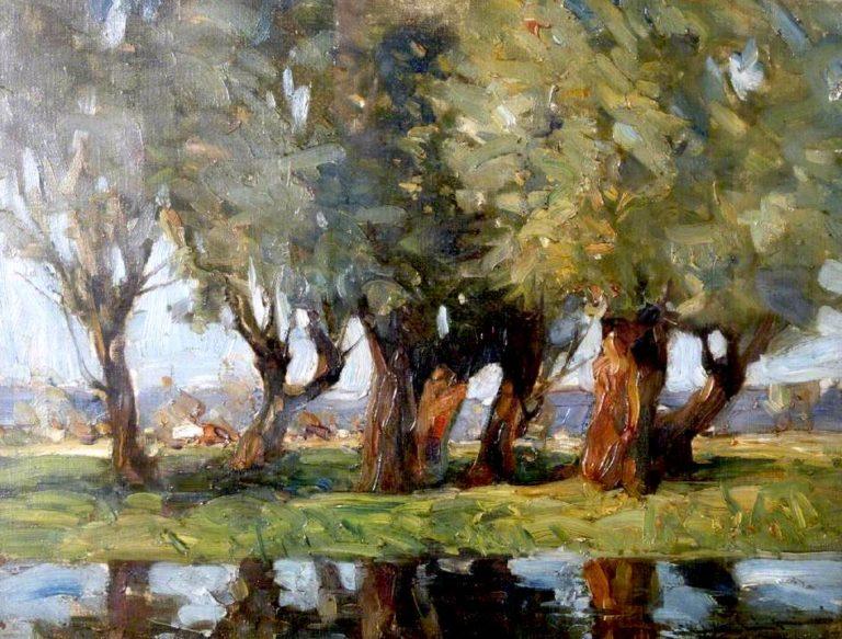 Broadly Thats It | Edmund Aubrey Hunt | oil painting