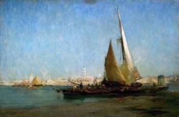 Venice | Edmund Aubrey Hunt | oil painting