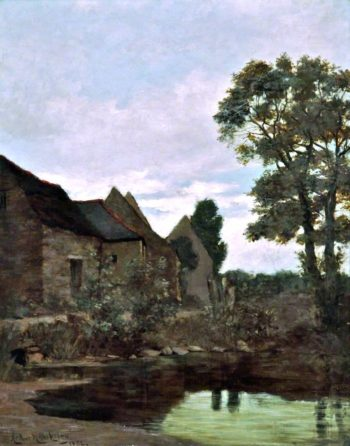 Landscape   Arthur Hawksley   oil painting