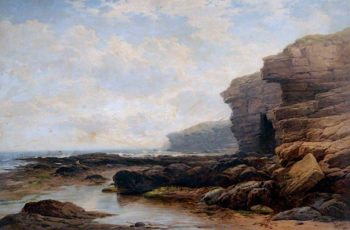 Whitley Coast | George Blackie Sticks | oil painting