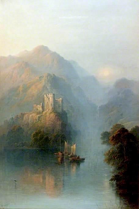 Dewy Eve   George Blackie Sticks   oil painting