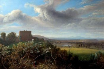 Nottingham Castle | John Rawson Walker | oil painting