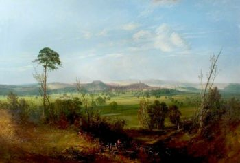 View of Nottingham from Wilford | John Rawson Walker | oil painting