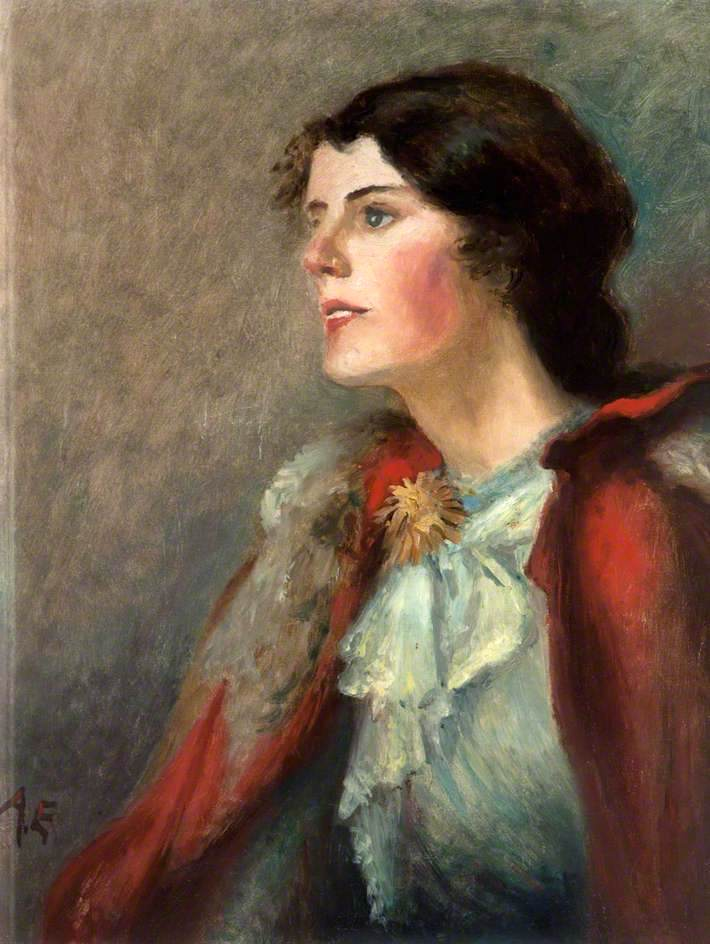 Miss Elizabeth Young | George William (A.E. Russell | oil painting