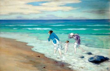 On the Beach | George William (A.E. Russell | oil painting