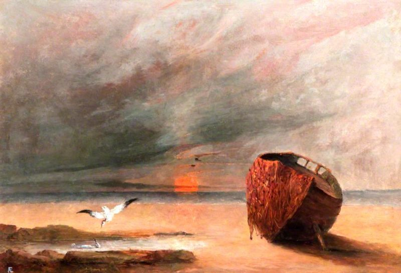 Sunset | George William (A.E. Russell | oil painting