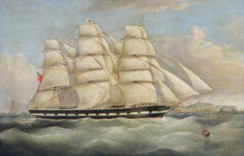 The Ship Alicia Bland | Joseph Heard | oil painting