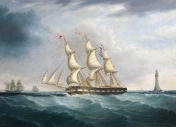 The Ship Allerton | Joseph Heard | oil painting
