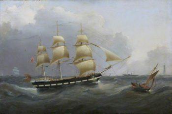 The Ship Annie Jane | Joseph Heard | oil painting