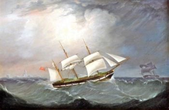 The Barque Charles Eyes