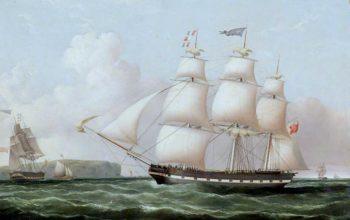 The Ship Abbotsford | Joseph Heard | oil painting