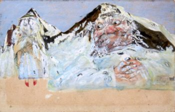 Sweet Sugarloaf and the Wild One - Pfaff | Emil Nolde | oil painting