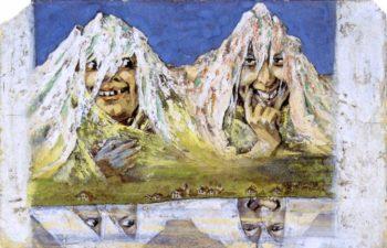 The Myths   Emil Nolde   oil painting