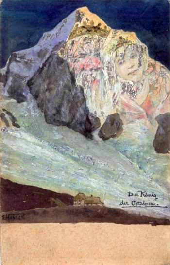 The King of the Eastern Alps | Emil Nolde | oil painting