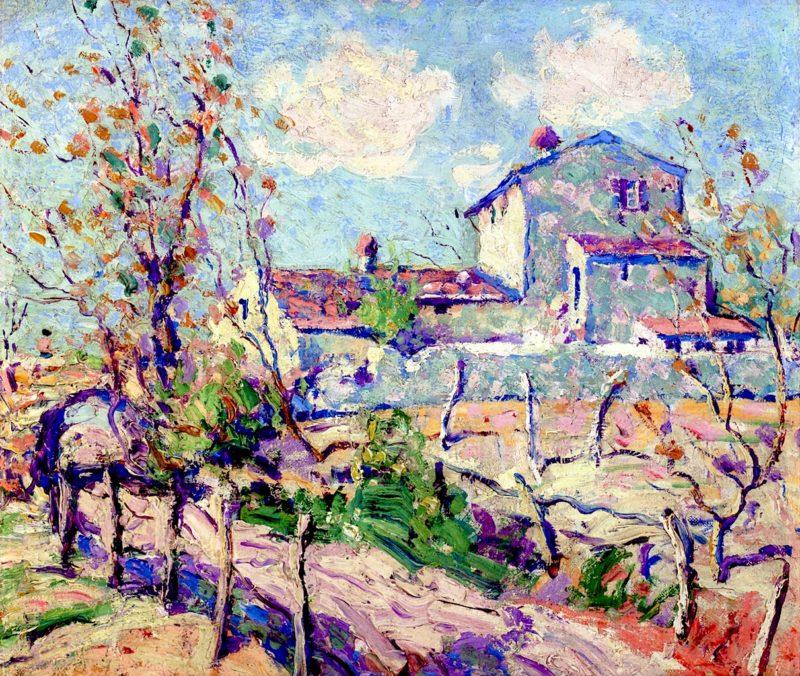 Landscape (Cages - sur - Mer