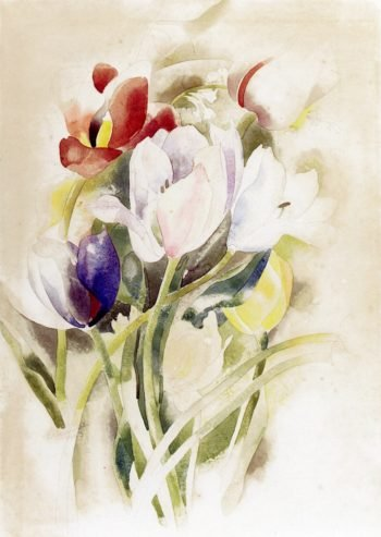 Tulips | Charles Demuth | oil painting