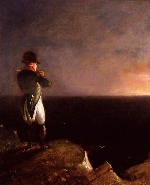 Napoleon Bonaparte   Benjamin Robert Haydon   oil painting