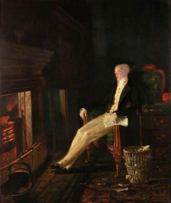 Shall I Resign?   Benjamin Robert Haydon   oil painting