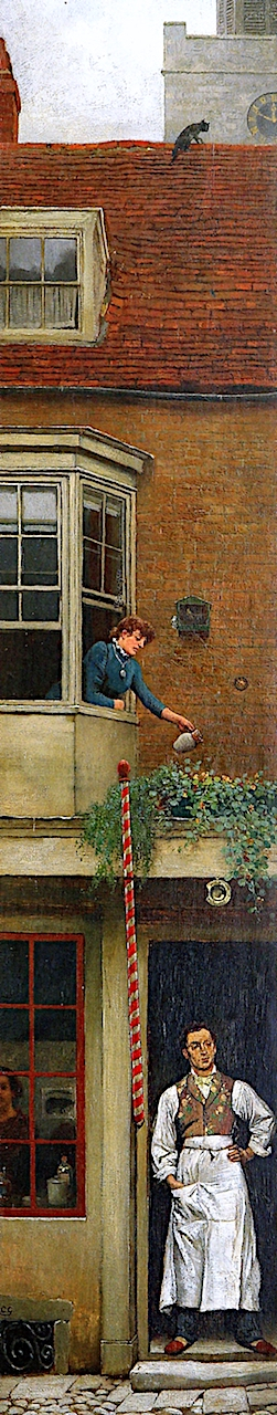 A Bit of Old Hampstead | Charles Green | oil painting