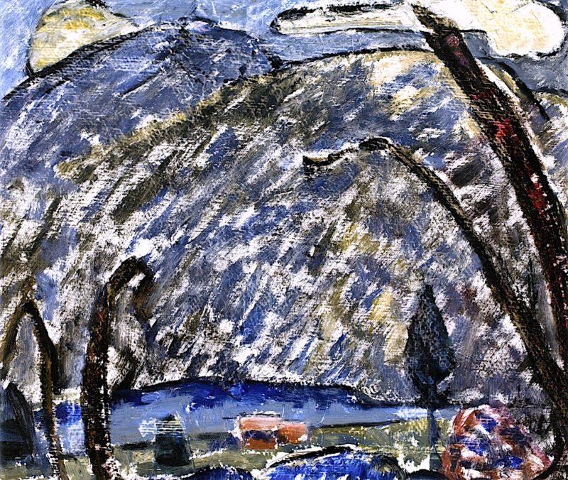 Landscape No. 14   Marsden Hartley   oil painting