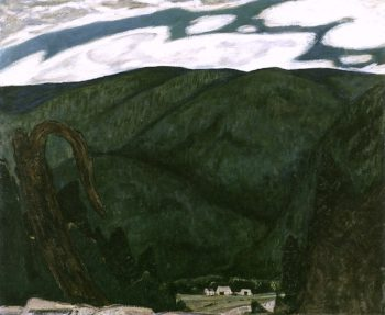 The Dark Mountain | Marsden Hartley | oil painting