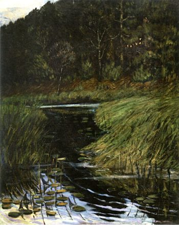 Shady Brook | Marsden Hartley | oil painting