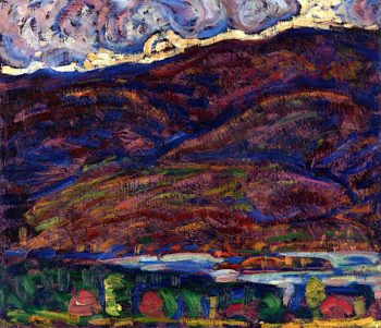 Autumn Color | Marsden Hartley | oil painting
